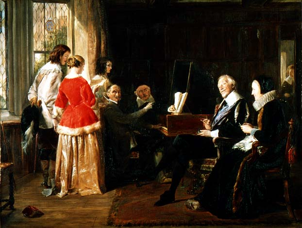 """A Madrigal"" by John Callcott Horsley"
