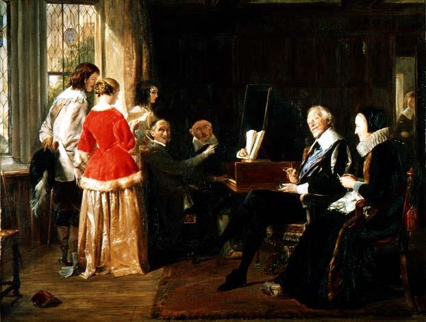 """A Madrigal"" by John Callcott Horsley"
